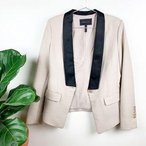 BCBGMAXAZRIA 'Catalina' Tuxedo Tailor Fit Blazer M